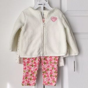 12 month baby girl 3 piece set
